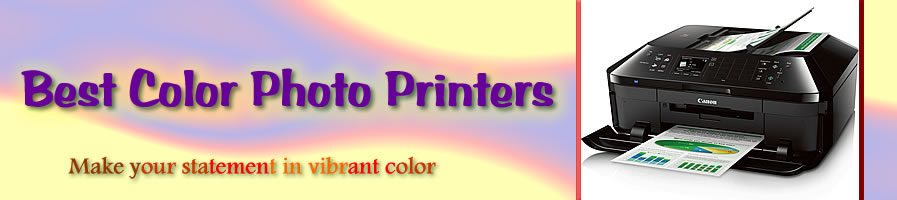 Best Color Photo Printers header image